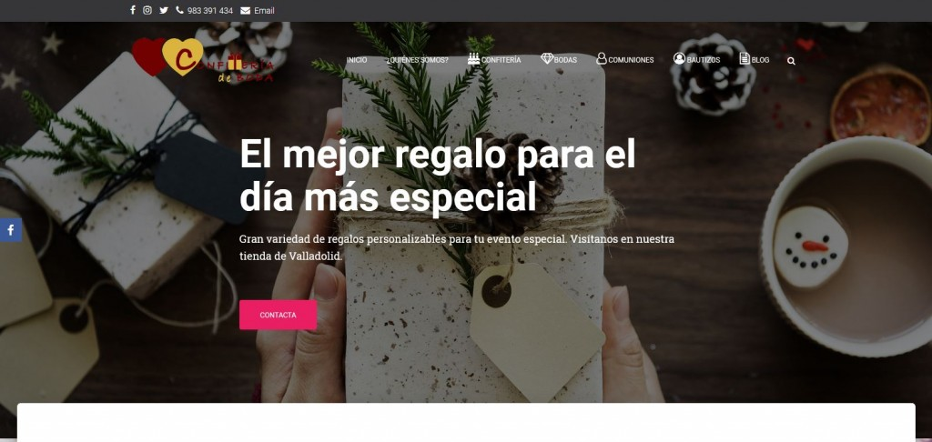 Diseño web Arroyo encomienda