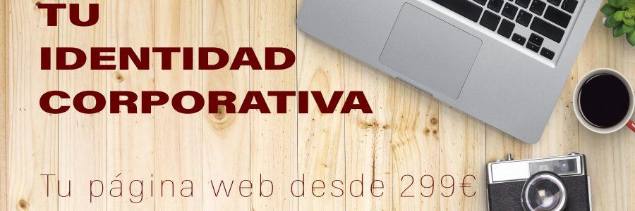 Promoción especial en el diseño web